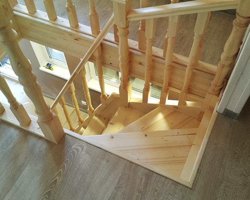 Как сделать проем лестницы